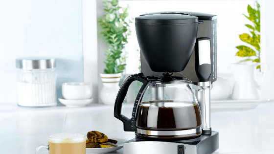 Space Saving Coffee Maker