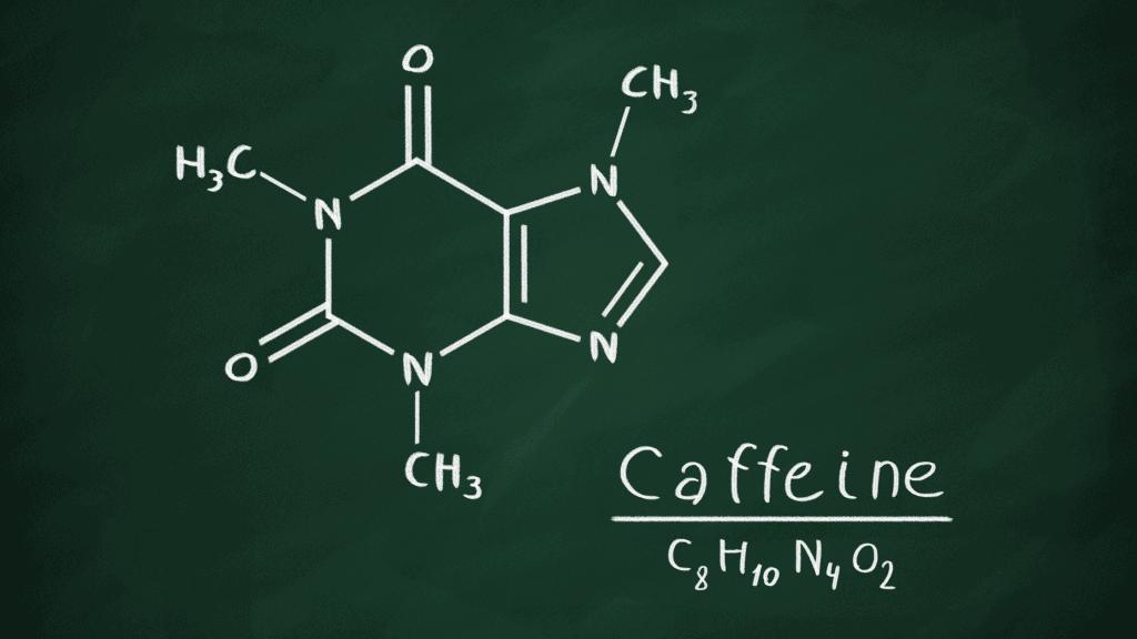 coffee caffeine molecule