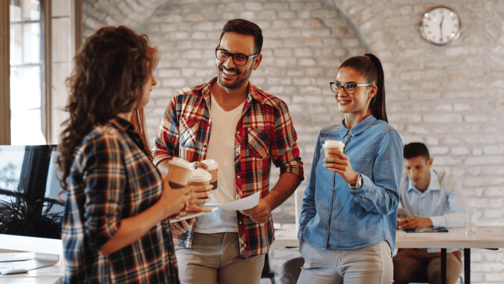 Coffee breaks can increase productivity